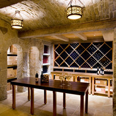 Contemporary Wine Cellar by Marcus Gleysteen Architects