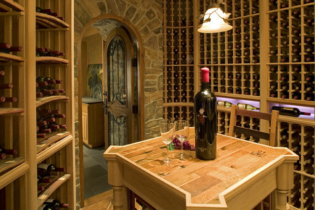 Contemporary Wine Cellar by Gelotte Hommas Architecture