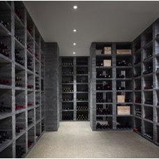 Contemporary Wine Cellar by Wheeler Kearns Architects