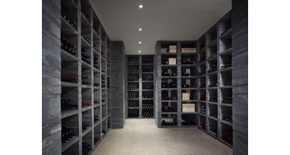 Contemporary Wine Cellar by Wheeler Kearns Architects