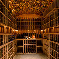 Traditional Wine Cellar by Maienza - Wilson Interior Design + Architecture