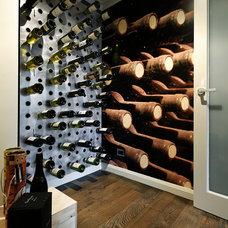 Contemporary Wine Cellar by Webb & Brown-Neaves