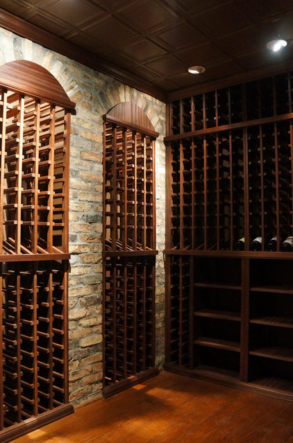 Modern Wine Cellar by WineRacks.com