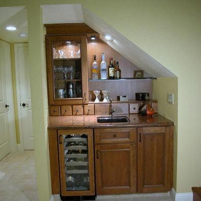 Under stairs on Pinterest Wine Cellar Bathroom Under