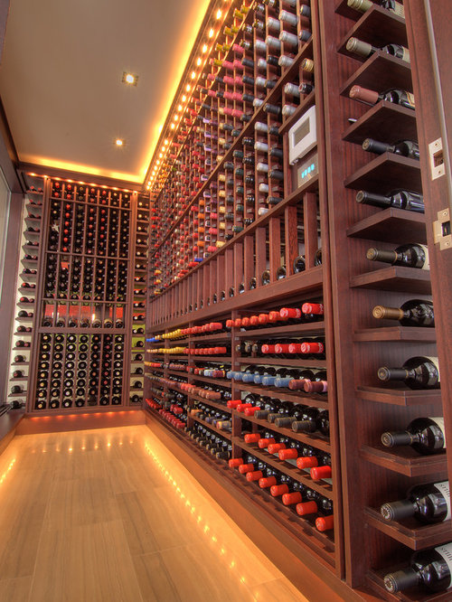 home gym ideas in garage - Wine Cellar Lighting