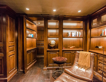 Home Theater with Secret Room