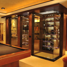 Contemporary Wine Cellar by SKD Architects