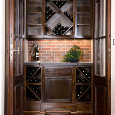 Traditional Wine Cellar by Collaborative Design Group-Architects & Interiors