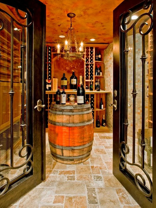 mediterranean seattle wine cellar design ideas remodels