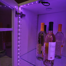 Contemporary Wine Cellar by Inspired LED