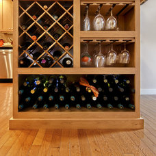 Contemporary Wine Cellar by Integra Construction Group