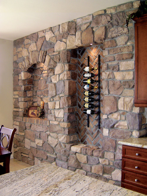 Concrete Buttress Wall Design : Affordable stone buttress wall wine cellar design ideas