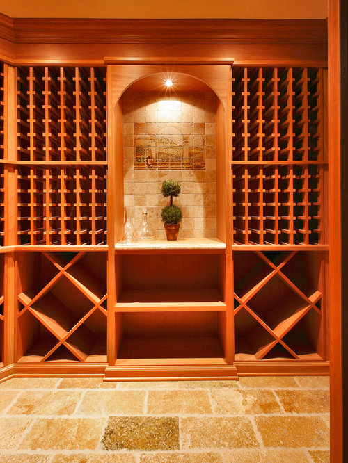 Mediterranean New York Wine Cellar Design Ideas, Remodels u0026 Photos