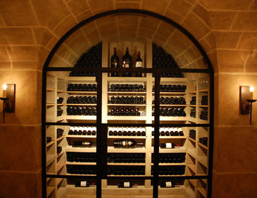 Jada Windows Steel Custom Wine Cellar