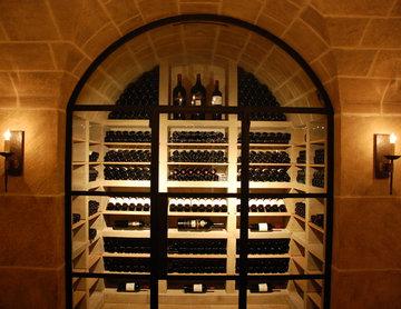 Jada Windows Steel Custom Wine Cellar