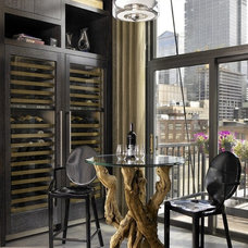 Industrial Wine Cellar by jamesthomas, LLC