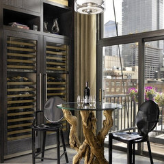 contemporary wine cellar by jamesthomas, LLC