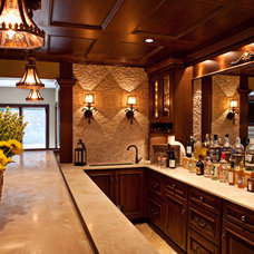 Traditional Wine Cellar by Karr Bick Kitchen and Bath