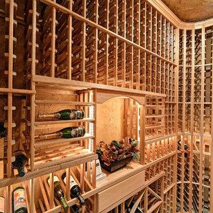 Expansive rustic wine cellar in Phoenix.