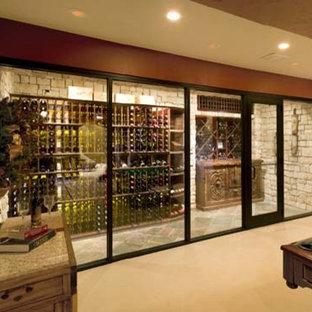 Kansas City Missouri Custom Wine Cellar Design Wine Closet Wine Room Glass Front