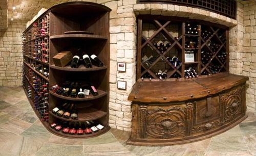 Kansas City Missouri Custom Wine Cellar Design Wine Closet Wine Room Glass Front