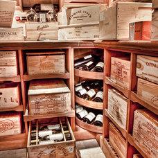 Eclectic Wine Cellar by Revel Custom Wine Cellars