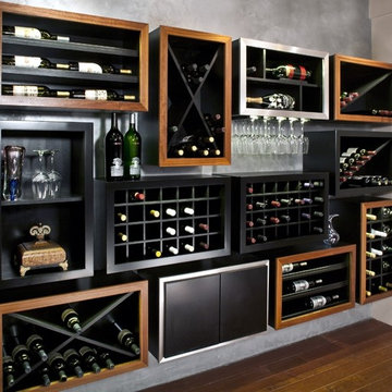 Kessick Contemporary wine racking