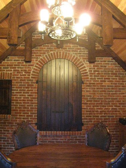 Traditional Wine Cellar by Kessick Wine Cellars