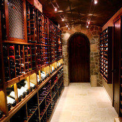 wine cellar by Kessick Wine Cellars