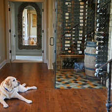 Traditional Wine Cellar by Interior Changes home design