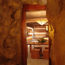 Contemporary Wine Cellar by Knudson Interiors