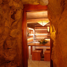 Tropical Wine Cellar by GM Construction, Inc.
