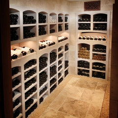 traditional wine cellar La Cave TimothyJohn