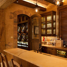Traditional Wine Cellar by Collins & DuPont Design Group