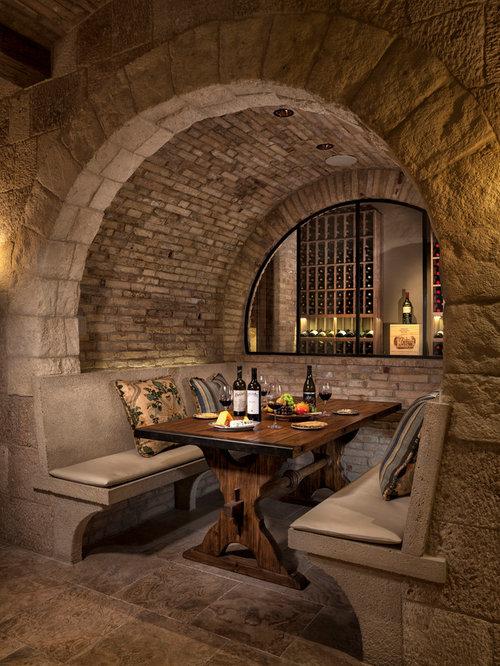 Mediterranean Wine Cellar Design Ideas Remodels Amp Photos