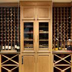 Wine Cellar Humidor - Traditional - Wine Cellar - New York - by Carisa Mahnken Design Guild