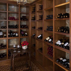 Traditional Wine Cellar by Institute of Classical Architecture & Art - Texas
