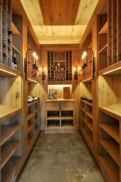 Contemporary Wine Cellar by Cornerstone Architects