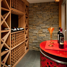 Modern Wine Cellar by LDa Architecture & Interiors