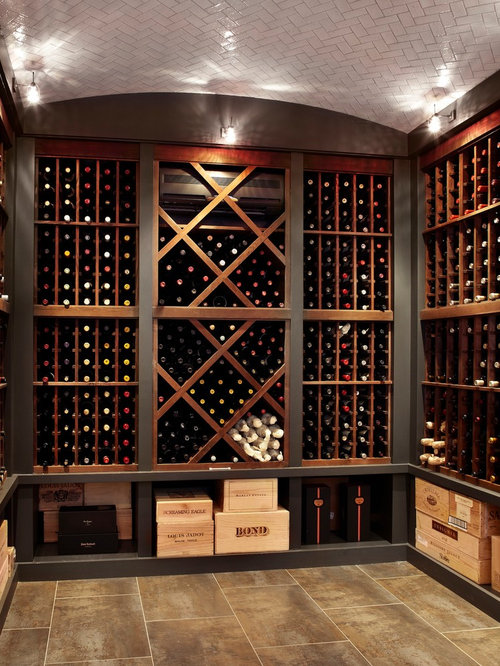 Wine Crate Shelves Design Ideas & Remodel Pictures | Houzz