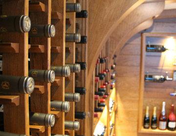Lines of bottles
