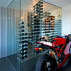 Contemporary Wine Cellar by June Street Architecture