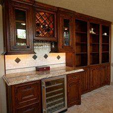 Traditional Wine Cellar by Sneller Custom Homes and Remodeling, LLC