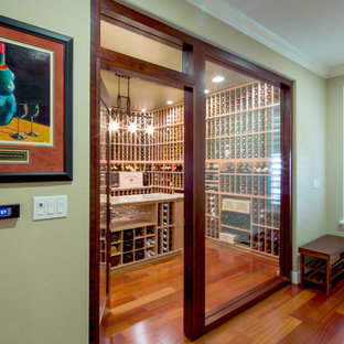 Living Room to Wine Room Conversion