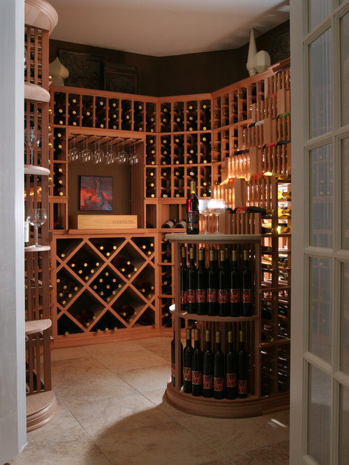 Modern wine cellar design ideas remodels photos with for Wine cellar in floor