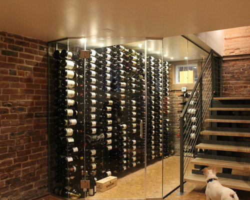 Contemporary Wine Cellar Design Ideas Renovations