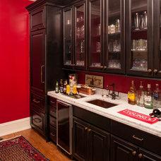 Traditional Wine Cellar by Kitchen & Bath Mart
