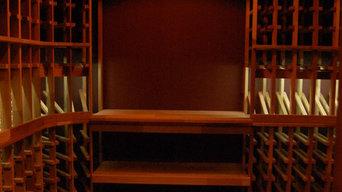 Long Thin Wine Cellar