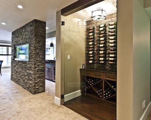 Walk In Wine Cellar Houzz