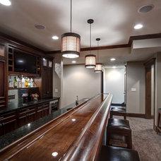 Traditional Wine Cellar by Modern Design LLC